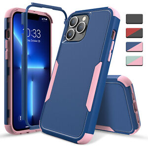 For iPhone 13 Pro Max,Mini Case Shockproof Rugged Stand Cover/Belt Clip Holster
