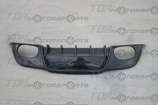 VIS Carbon Fiber Diffuser/Rear Lip Spoiler VIP for 08-15 Genesis 2D BK