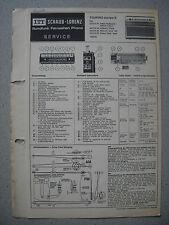 ITT/Schaub Lorenz Touring europa S Service Manual