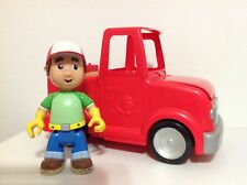 Disney Handy Manny 2-in-1 Transforming Talking Tool Truck Tools Work Bench Euc