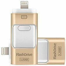 256Gb Usb Flash Drives, For Iphone [3-In-1] Lightning Otg Jump Drive, Ipad Memor