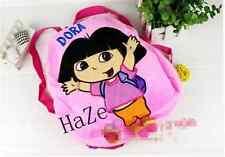 PINK Dora Backpack Girls Preschool The Explorer Dora Rescue Bag schoolbags AA*