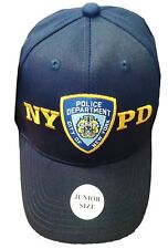 NYPD Boys Baseball Hat New York Police Department Navy One Size Junior Kids
