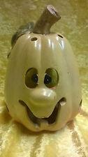 Kürbis für Teelicht Halloween Herbst Deko Geschenk