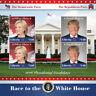 Liberia 2016 - PRESIDENTIAL CANDIDATES - Trump VS Clinton - Sheetlet of 4 - MNH