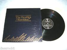 LP - Beatles Rarities - UK Promo PSLP # cleaned