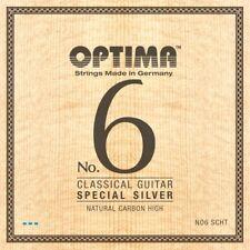 OPTIMA No.6 SPECIAL SILVER STRINGS Carbon High Konzertgitarre Saiten SATZ