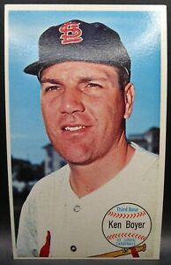 1964 Topps Giants Baseball #57 Ken Boyer St Louis Cardinals Large Card