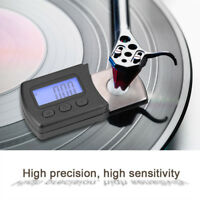 LP Digital Turntable Stylus Tracking Force Gauge Scale w/ 5g Calibration Weight