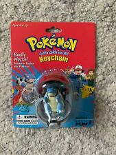 Pokemon Poke ball keychain, Blastoise #09, 1999 RARE, Working Pokeball
