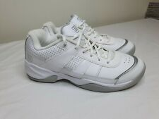 Wilson Pro Staff Court Womens WRS313810 White Leather Tennis Shoes Size 9US  7UK