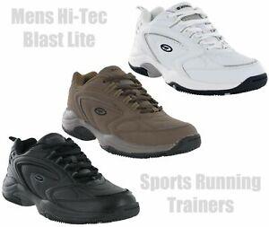 Hi-Tec Blast Lite Lace Up Lightweight Sports Gym Comfort Trainers Mens UK7-15