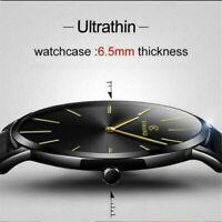 Men Sport Watch Genuine Leather Strap Automatic Wrist Watch Mechanical Watches