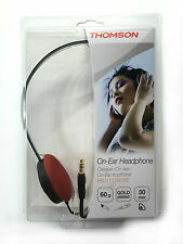 Thomson HED1112BK/RE Stereo Headphones  On-Ear - Auriculares - Casque Filaire