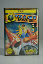 Game for msx - 10th frame-cassette-game skittles - 1987-vintage