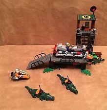 8632 Lego Agents Swamp Raid complete minifig alligator motorcycle