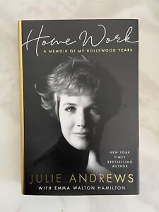 Julie Andrews & Emma Walton Hamilton - Signed Book - Homework - AFTAL OnlineCOA