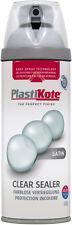 Plasti-kote PREMIUM Vernice Spray in raso da 400ml acrilico trasparente