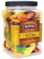 Dried Mixed Fruit with Prunes by It's Delish, 2 lbs (32 Oz) Jumbo Container |...