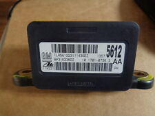 2012 CHEVROLET CHEVY CRUZE ANTI-LOCK BRAKE YAW RATE SENSOR FACTORY OEM 13575612