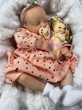 REBORN BABY  18 inch MADE FROM 3D SCAN OF A REAL NEWBORN ALYSSA