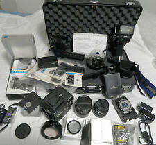 Hasselblad 500 EL/M Camera w/80mm Carl Ziess/135mm Makro-Planar Lenses+extras