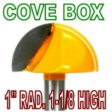 """1pc 1/2"""" SH 1"""" Rad, 1-1/8"""" Blade Cove Box Core Box Router Bit sct888"""