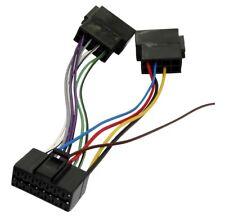 ADAPTATEUR FAISCEAU CABLE ISO C2001 AUTORADIO POUR PANASONIC CQ-RDP 101 102N