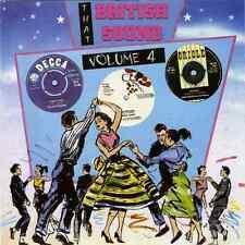 THAT BRITISH SOUND - VOLUME 4 - RARE 50s & 60s  ROCKERS - HEAR SAMPLES