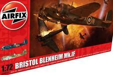 Airfix Bristol Blenheim Mk.IF I F Fighter RAF 303 MG 1:72 kit Modello kit NUOVO