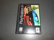 Psychic Detective (Sony PlayStation 1, 1996) Long Box, Complete in box