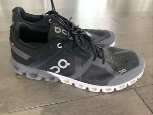 32-29 Men's SZ M 10.5 On Cloud Cloudflow Running Shoes Black