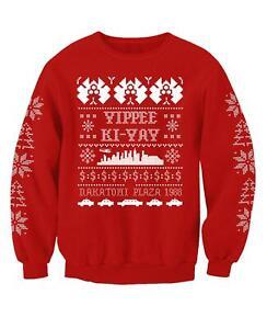 Die Hard Inspired Christmas Jumper Adults Sweatshirt