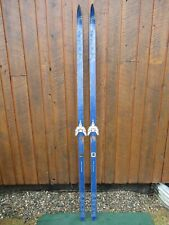 """VINTAGE Wooden 78"""" Skis Has Bindings Great For Decoration!!!"""