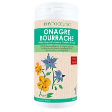 ♡♡ PHYTOCEUTIC ♡♡ Duo Onagre Bourrache Bio 180 capsules - Beauté de la Peau