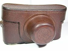 Leather case for the russian camera TSVVS Excellent condition, Rare