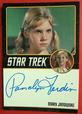 Star Trek Tos 50th, Pamelyn Ferdin as Mary Janowski, Very Limited Auto (Black)