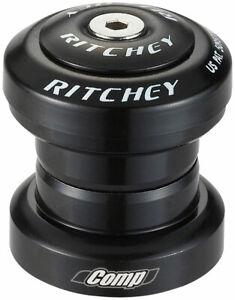 "Ritchey Comp Logic Headset: Threadless 1"" Black Bicycle Bearing Set Bike Parts"