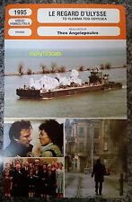 Greek Cannes Award Winner Ulysses' Gaze Harvey Keitel French Film Trade Card