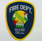 """Moore Fire Department Cleveland County Oklahoma OK Patch (F6-A) 3.75"""""""