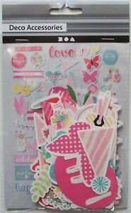 Craft Embellishments For Card Making and Scrapbooking. Summer Style. 250g Card.