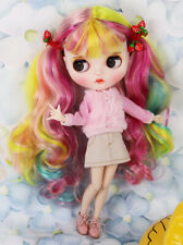 Blythe Nude Doll from Factory Palette Hair With Make-up Eyebrow Sleeping Eyes