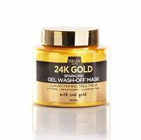 24K Gold Collagen Facial Face Mask Moisture Anti-Aging Remove Wrinkle Skin Care