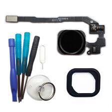iPhone 5S Home Button Flex Kabel ID Sensor Touch Menü Taste schwarz + Werkzeug