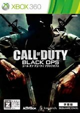 USED Call of Duty: Black Ops (Subtitled Edition) Japan Import Xbox 360