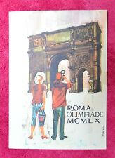 CARTOLINA ROMA OLIMPIADE MCMLX ARCO DI COSTANTINO VIAGGIATA 1960 SUBALPINA QQ