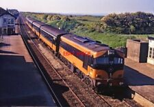 PHOTO  IRISH RAILWAY - CIE LOCO NO  009 GORMANSTOWN 21.05.1988