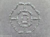 30X Glühlampen Armaturenbrett Glassockel Stecksockel 12V 1,2W T5 W2x4,6d