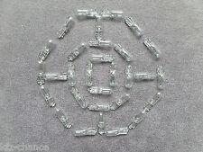 30x bombillas salpicadero vidrio zócalo stecksockel 12v 1,2w t5 w2x4,6d