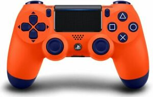 Official Sony PlayStation Dualshock Wireless Controller v2  SUNSET ORANGE